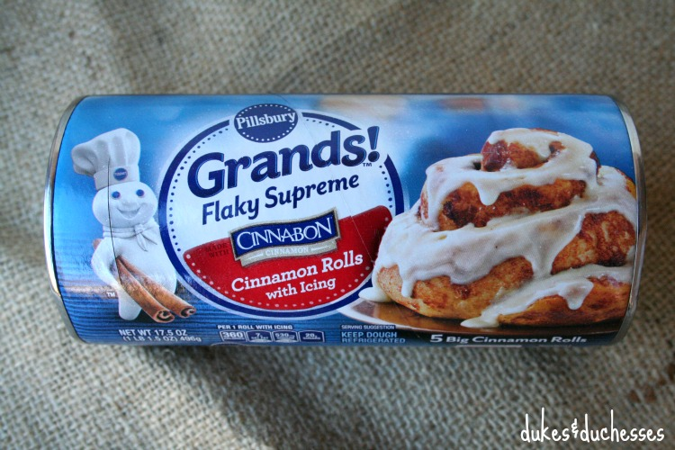 Pillsbury Grands sweet rolls
