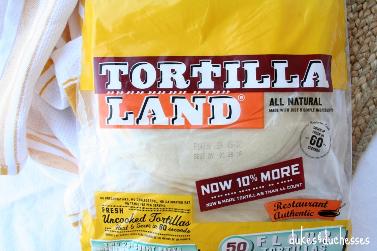 TortillaLand tortillas from Costco