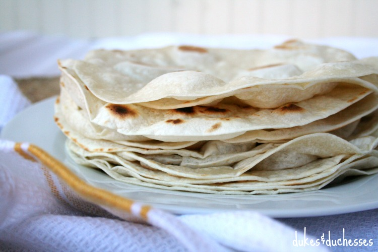 cooked TortillaLand tortillas