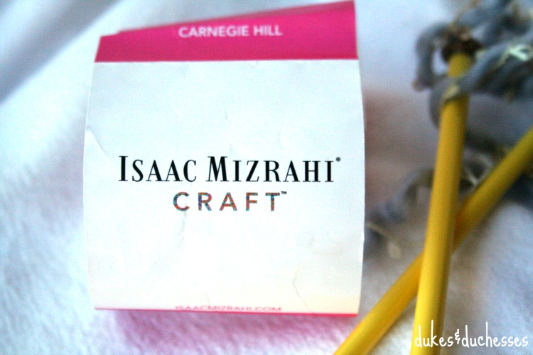 isaac mizrahi craft yarn from michaels