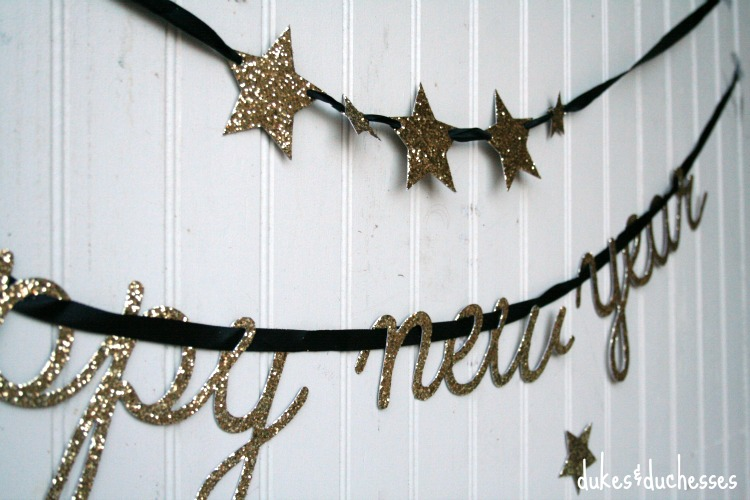 new year's eve garlands