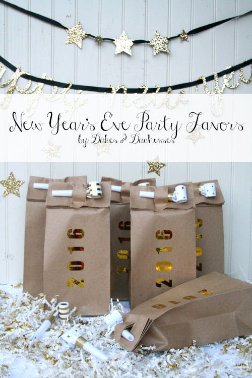 New Year's Eve Party Favors by Randi Dukes