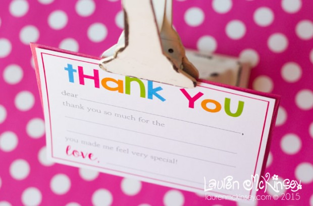 image about Fill in the Blank Thank You Cards Printable identified as 10 Free of charge Printable Thank By yourself Notes / Playing cards for Young children