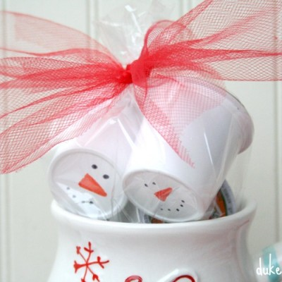 Snowman Coffee Gift