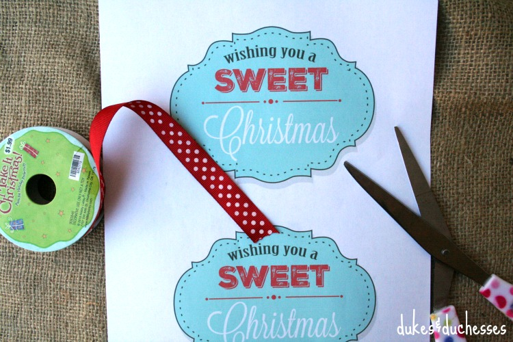 sweet Christmas printable