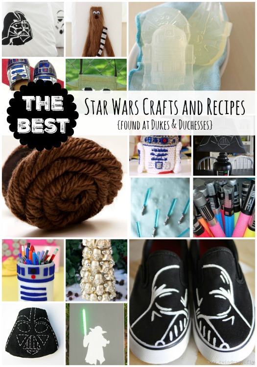 the best star wars crafts and recipes