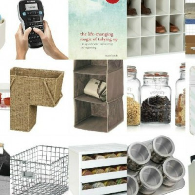 Favorite Organizational Tips and Products