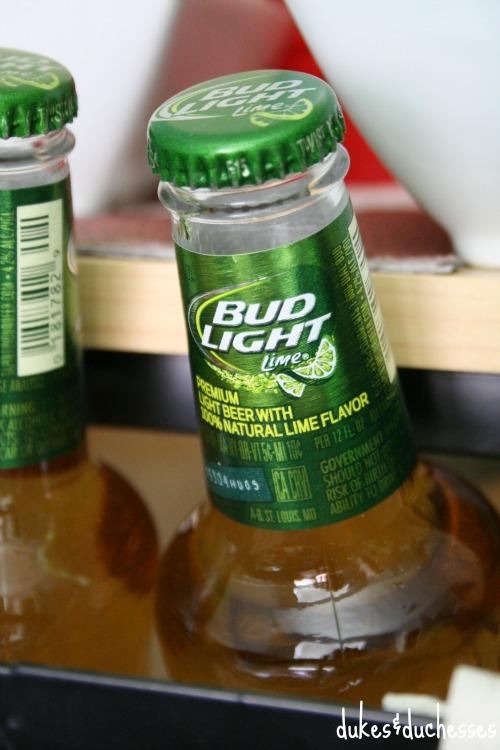 bud light with lime