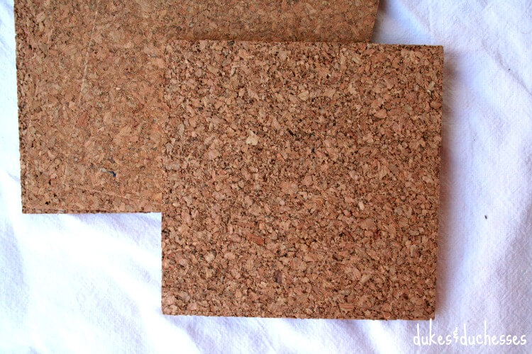 cork tiles for cross stitch cork trivet