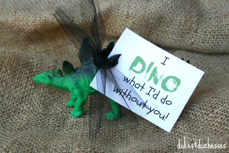 dino printable on dinosaur valentine