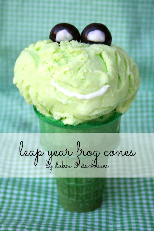 leap year frog cones