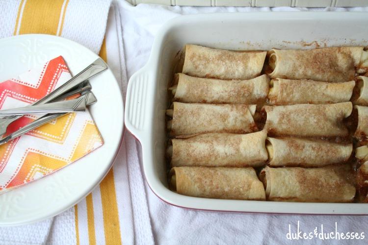 mexican apple dumplings
