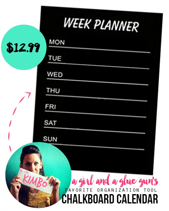 organization giveaway--chalkboard calendar