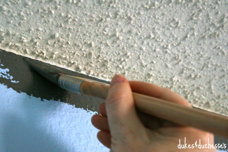 painting edge of wall