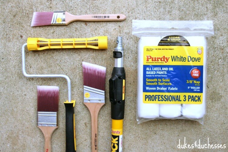 painting equipment by Purdy