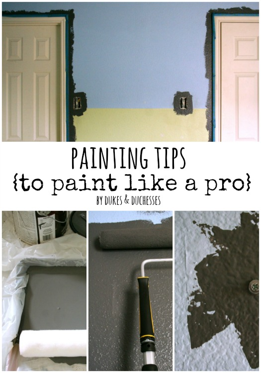 painting tips to paint like a pro