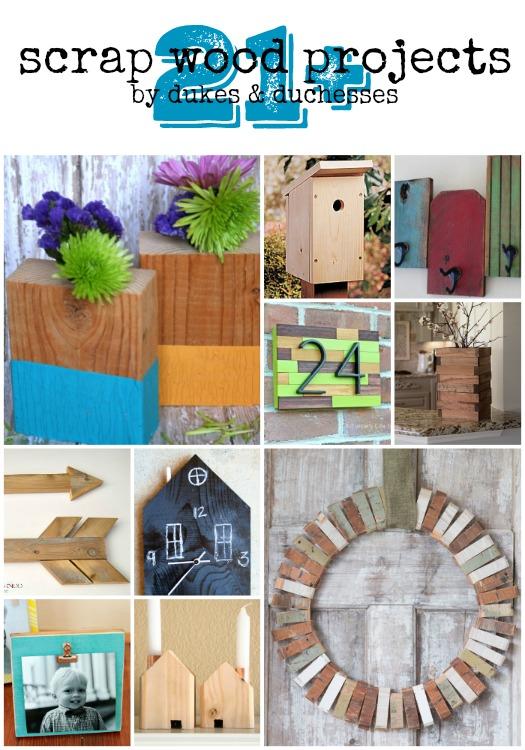 21+ scrap wood projects
