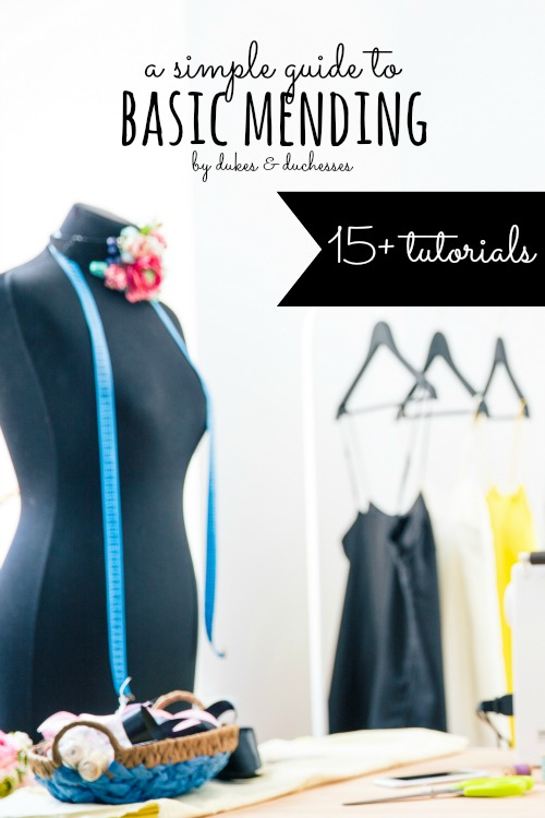 simple guide to basic mending