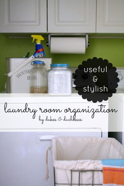 useful stylish laundry room organization