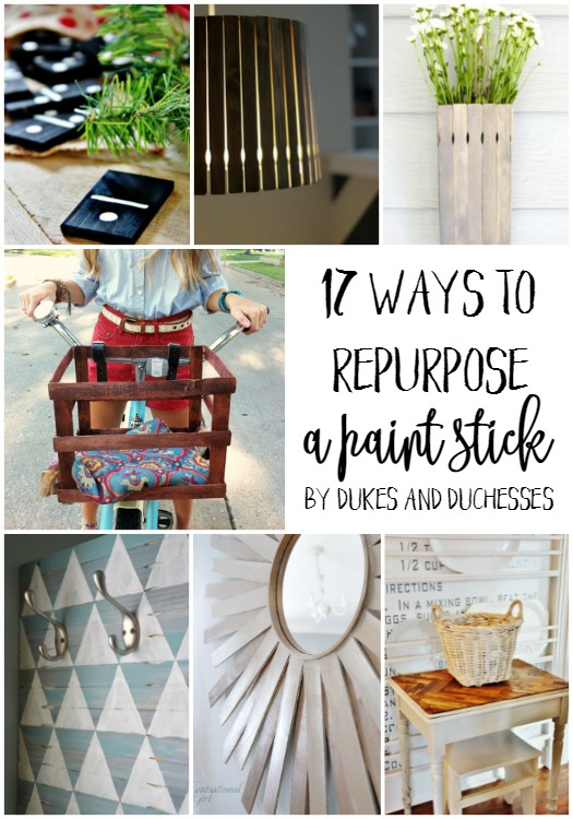 ways to repurpose a paint stick