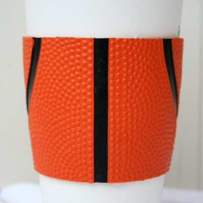Upcycled Basketball Coffee Cuff
