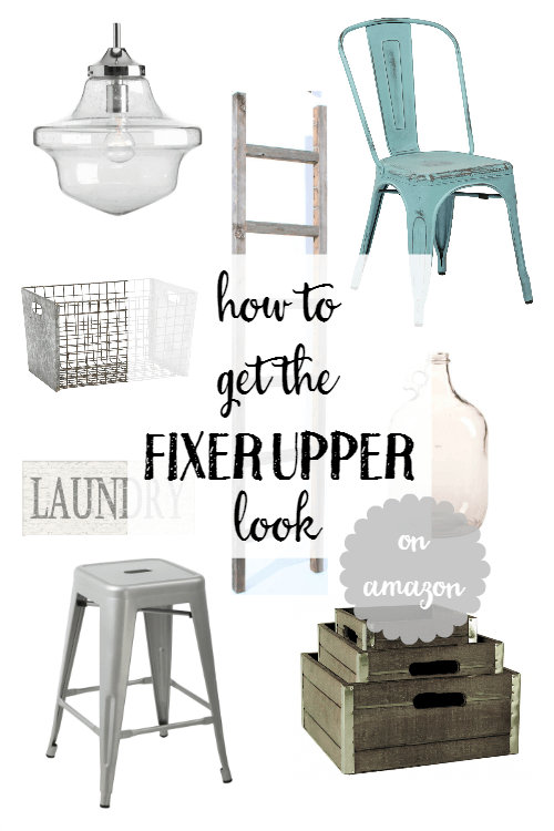 how to get the fixer upper look