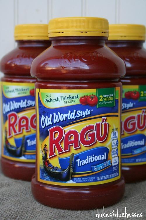 Ragu traditional sauce from Sam's Club