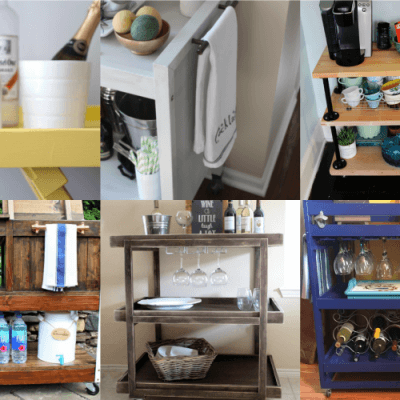 10 DIY Bar Cart Projects