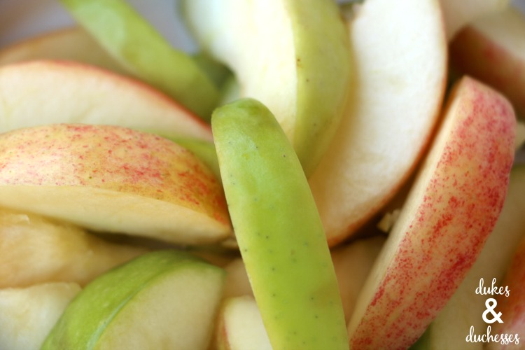 apple for fruit dip