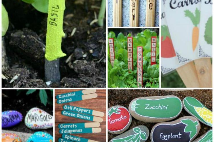 18 DIY Garden Markers