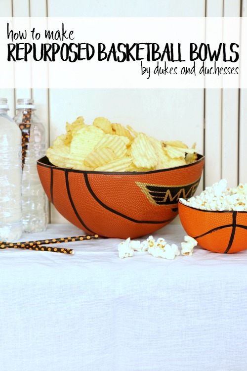 How To Make Repurposed Basketball Bowls Dukes And Duchesses
