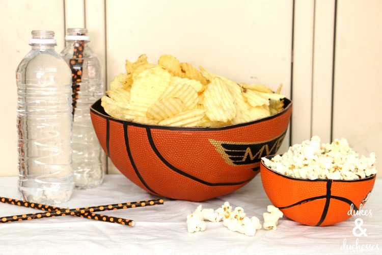 march madness party decor