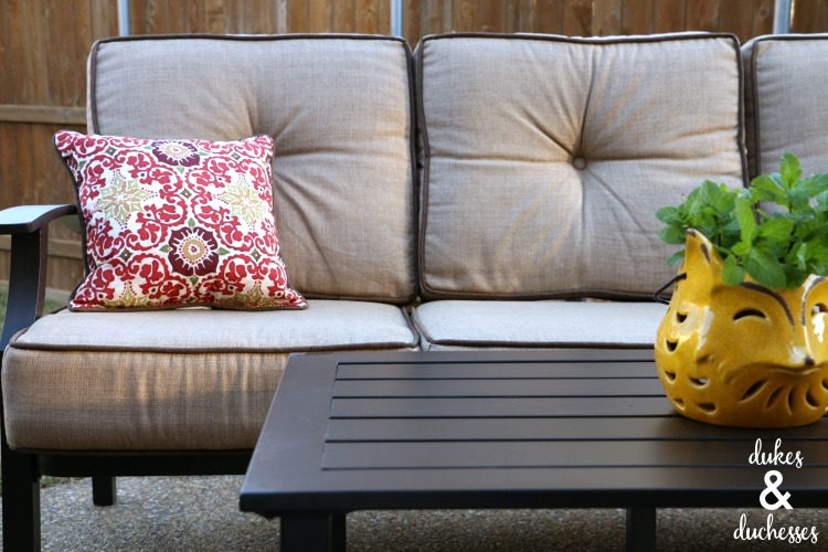 Creating An Outdoor Living Space Dukes And Duchesses