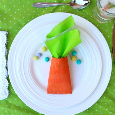 Upcycled Carrot Party Favors