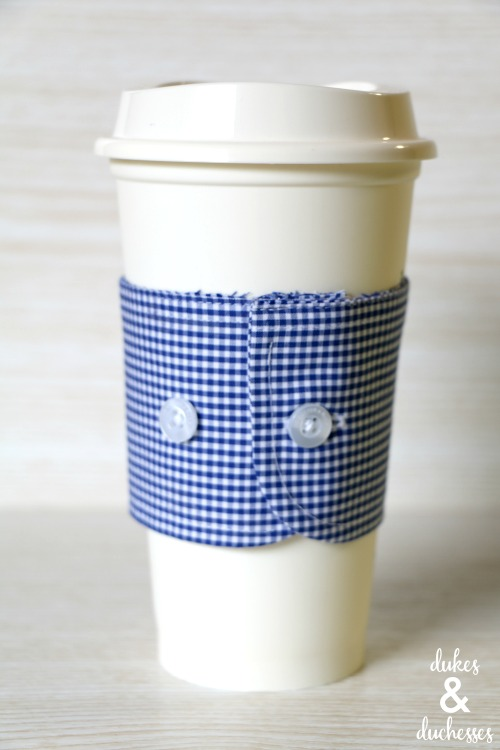 repurposed coffee sleeve