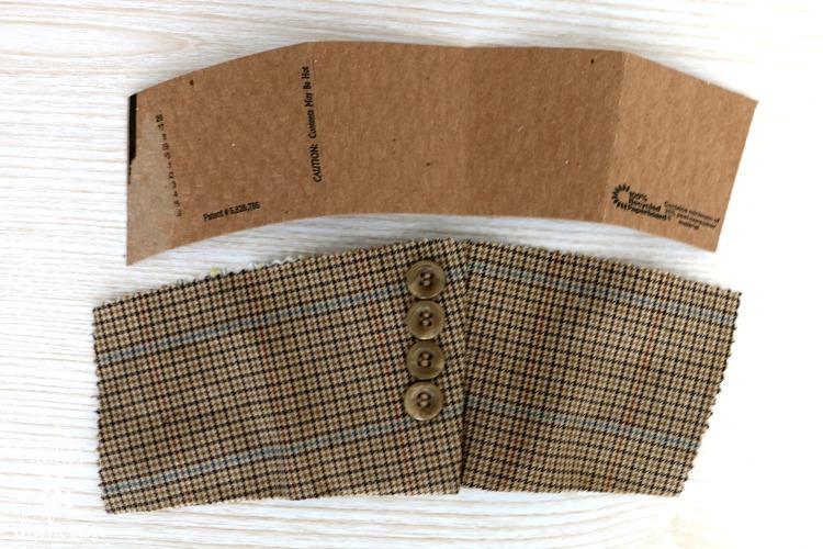 coffee sleeve template