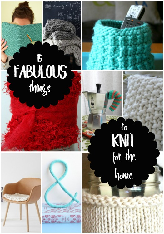 things to knit for the home