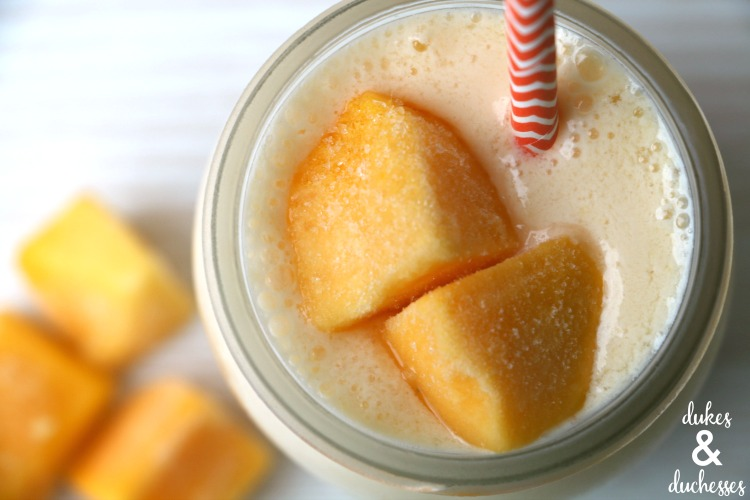 frosted mango lemonade