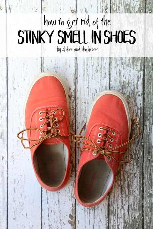 how to get rid of the stinky smell in shoes