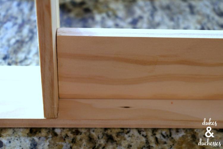 how to make a DIY drawer divider