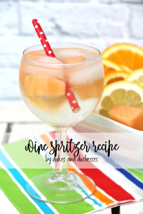 wine spritzer recipe