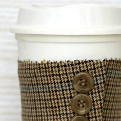 Suit Jacket Cuff Coffee Sleeve