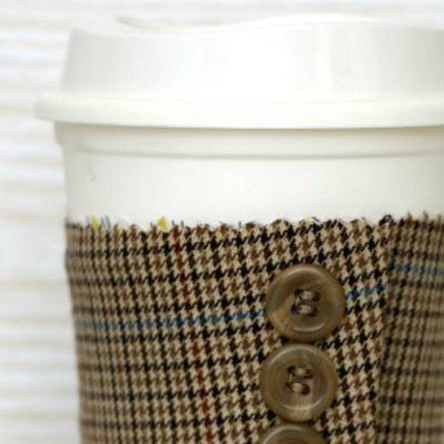 Suit Jacket Cuff Coffee Sleeve
