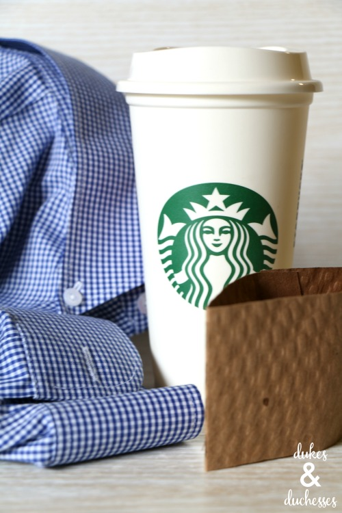 supplies for shirt cuff coffee sleeve