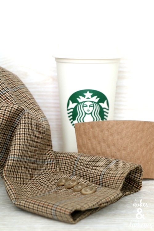 supplies for suit cuff coffee sleeve