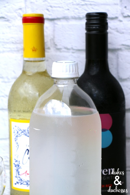 wine spritzer bar ingredients