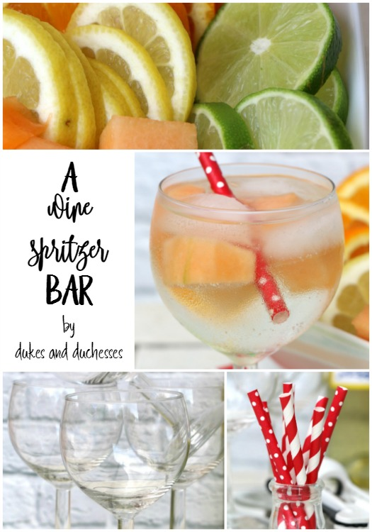 wine spritzer bar