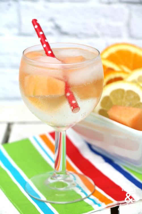 wine spritzer drink recipe