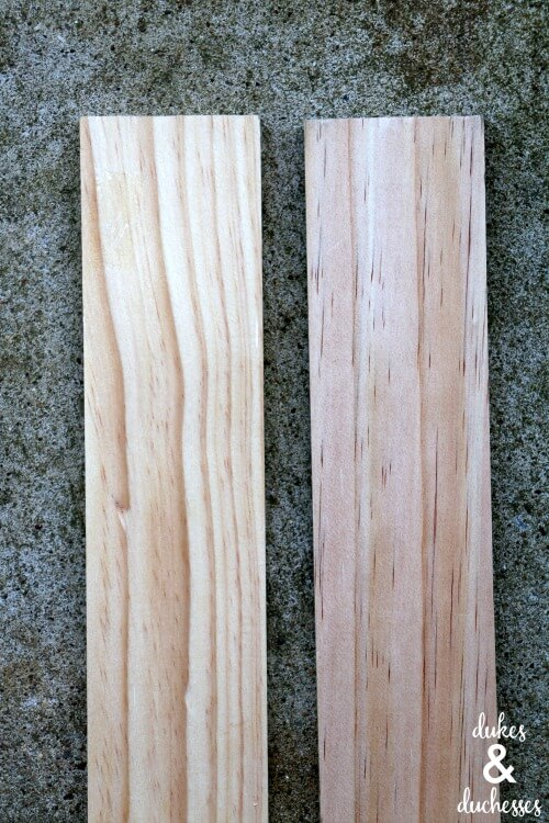 wood for DIY drawer divider