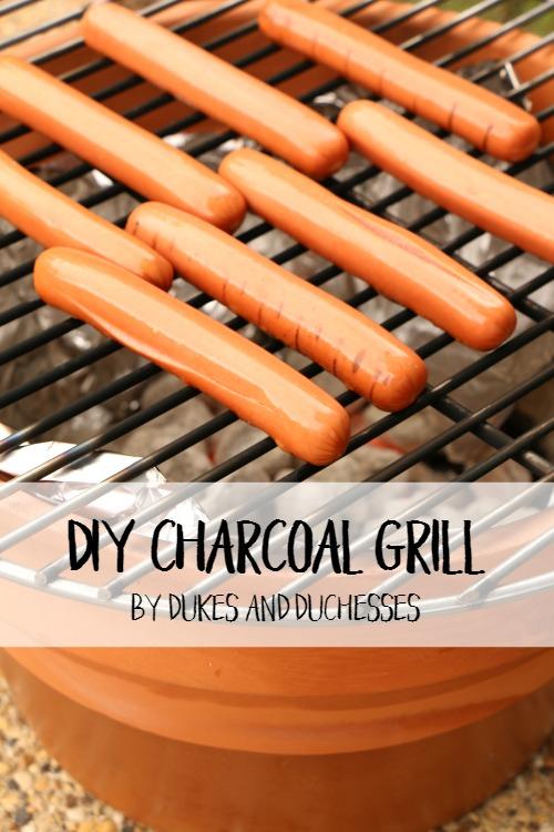 DIY charcoal grill